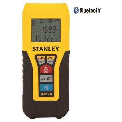dalmierz laserowy z bluetooth marki Stanley
