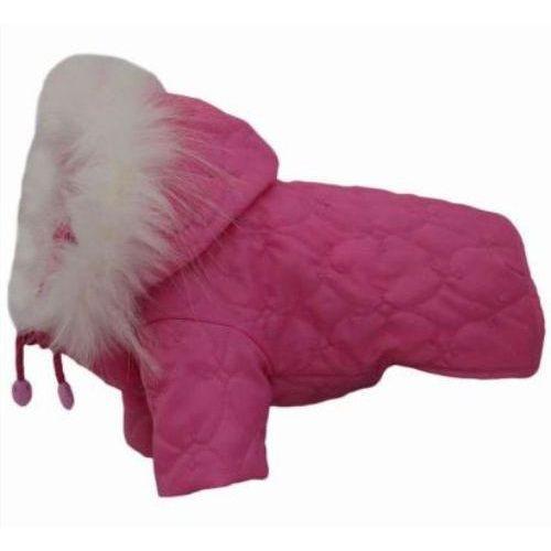 Grande finale kurtka u13 różowa pikowana różne rozmiary