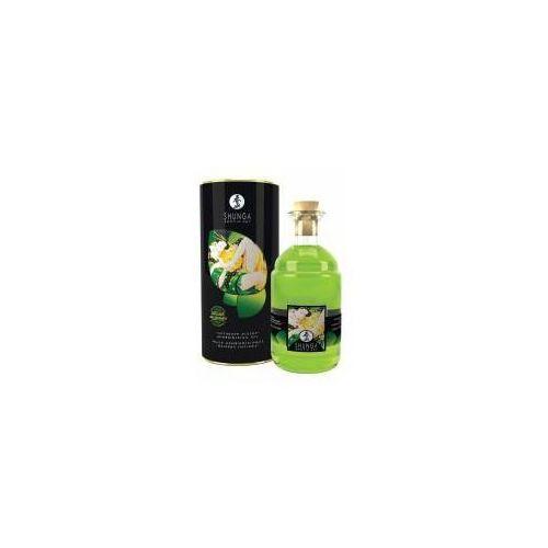 Rozgrzewający olejek do masażu Shunga Aphrodisiac Exotic Green Tea Organic 100 ml, 8400500