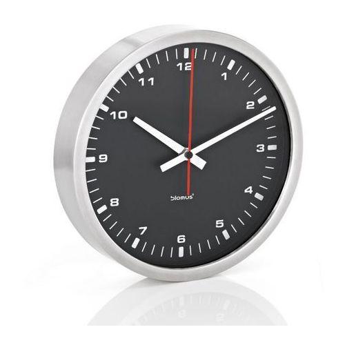 Blomus era - zegar ścienny z czarną tarczą - 30 cm - 30 cm