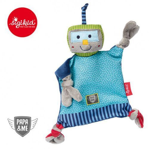 SIGIKID Przytulaczek - komforter Robot Papa&Me