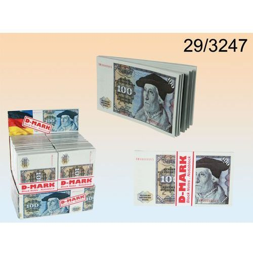 ZABAWNY NOTES -JAK 100 DM marek niemieckich - produkt z kategorii- Gadżety
