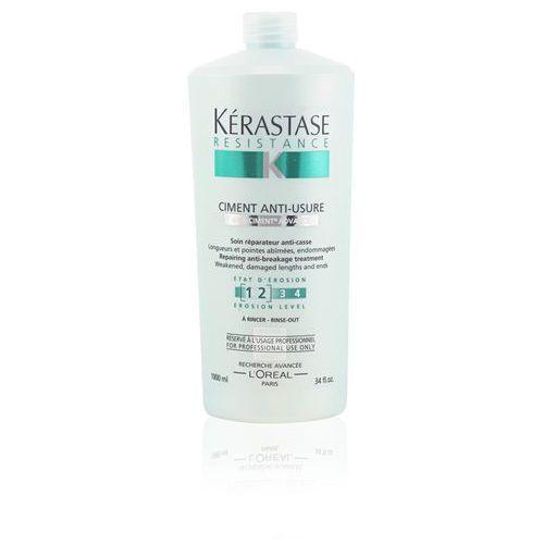 Kerastase  resistance ciment anti usure 1000ml w odżywka do włosów (3474630382367)