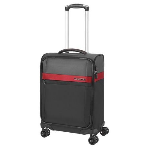Travelite stream walizka mała kabinowa 21/55 cm / czarny - czarny