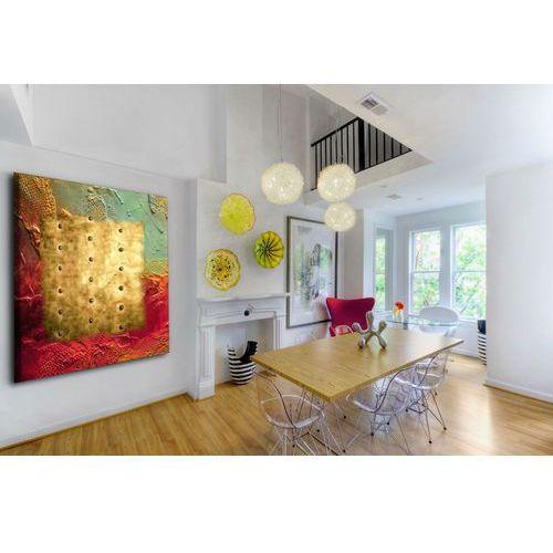 barwy i metal - Obraz nowoczesny dla lubiących podkreślać swoją indywidualność