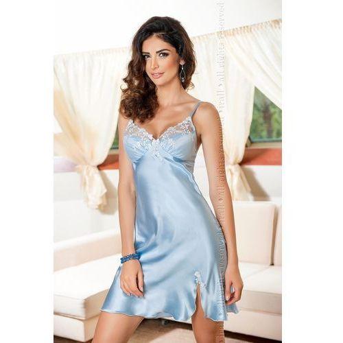 Koszulka Nocna Model Linda 2 Sky Blue, kolor niebieski