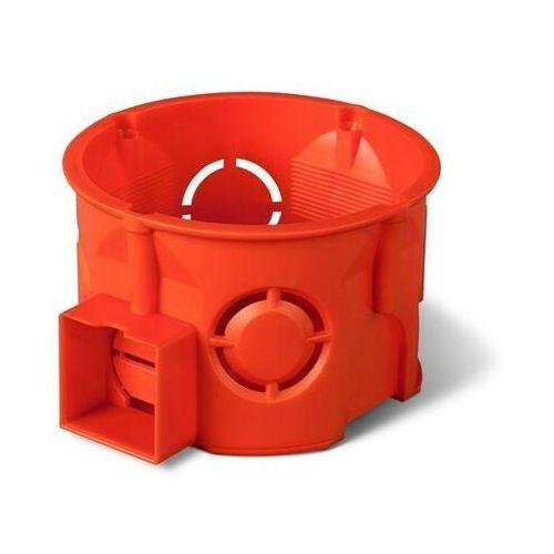 Elektro-plast nasielsk Puszka podtynkowa 60 łączona płytka 0284-00 pomarańczowa elektro-plast (5901752632110)