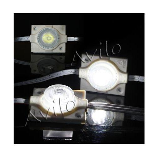 Avilo Moduł led - soczewkowy - diody smd 3535 - biały (zimny) - 3w!