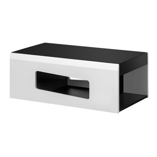 Ława stolik rake czarny & biały mat marki Furnival