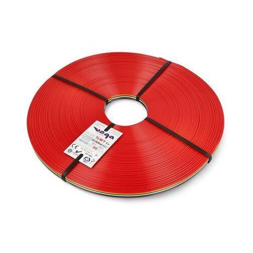 Przewód wstążkowy TLWY - 8x0,35mm²/AWG 22 - wielokolorowy - 50m, kolor kolorowy