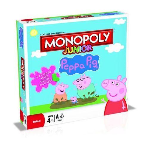 Gra Monopoly Junior Peppa Pig B93501200