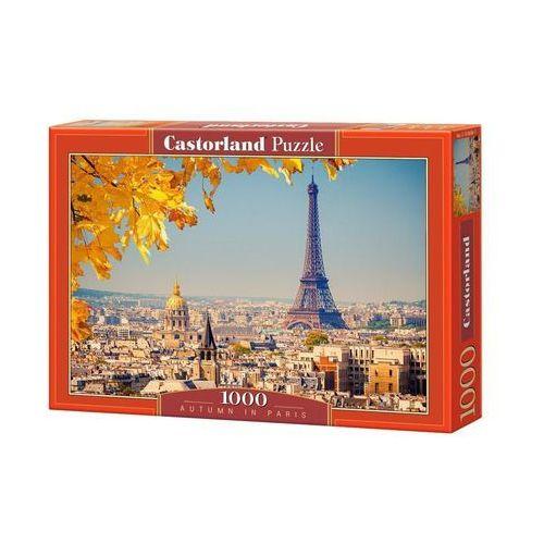 Castorland , autumn in paris, puzzle, 1000 elementów
