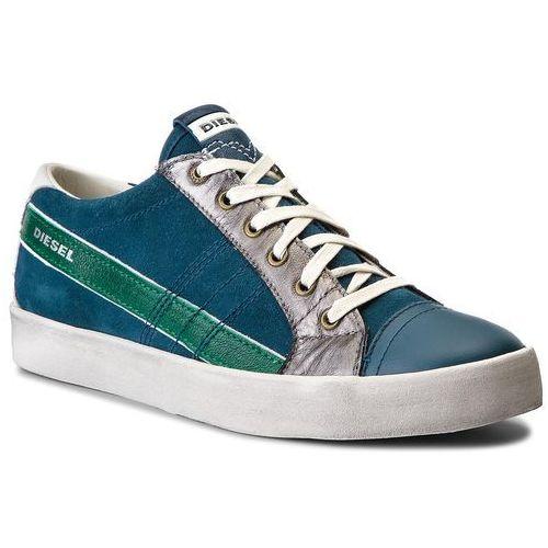 Sneakersy DIESEL - D-String Low Y01641 P1345 H6614 Legion Blue/Jelly Be, kolor wielokolorowy