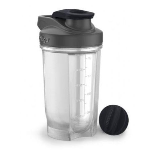 Shaker do odżywek Contigo ShakeGo Fit 590 ml - czarny