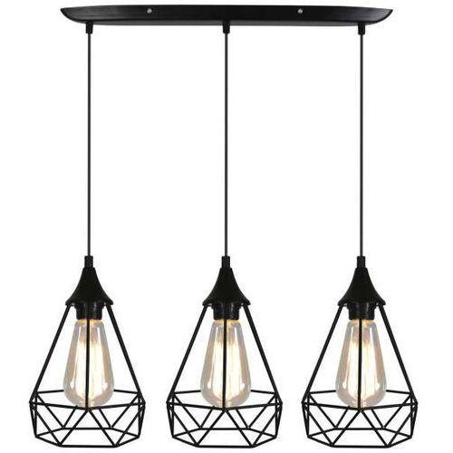 CANDELLUX GRAF 33-62901 Lampa wisząca 3x60W E27 (5906714862901)