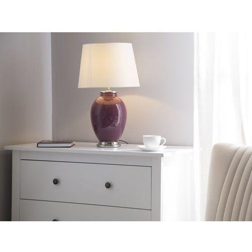 Lampka stołowa fioletowa BRENTA