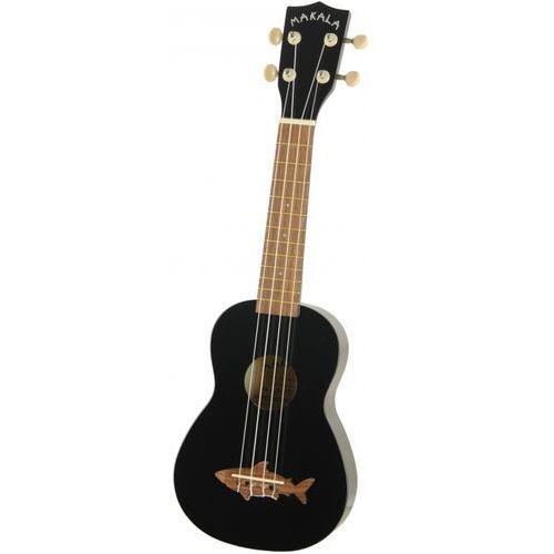 makala shark ukulele sopranowe, czarne marki Kala