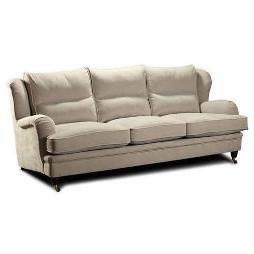 Sofa Estelia Perle 3-os., tkanina, skóra naturalna, eko skóra, opcja spania