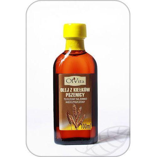 Olej z kiełków pszenicy tłoczony na zimno, nieoczyszczony 100ml - olvita marki Ol'vita