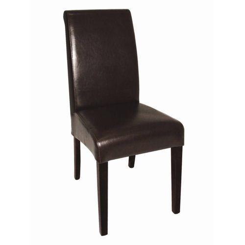 Krzesła skórzane | 2 szt. | 41x51x(H)101,5cm