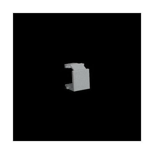 Zaślepka otworu wtyku RJ45/RJ12 do pokrywy gniazda teleinformatycznego; aluminiowy
