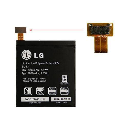 LG P895 Optimus Vu / BL-T3 2000mAh 7.4Wh Li-Polymer 3.7V (oryginalny)