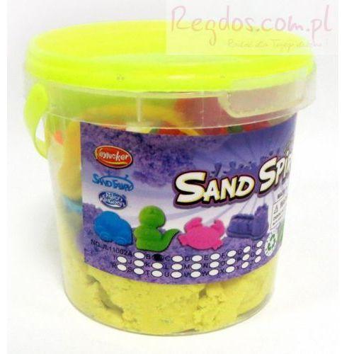 Piasek kinetyczny Sand Spirit Zwierzęta domowe żołty, 1_622517