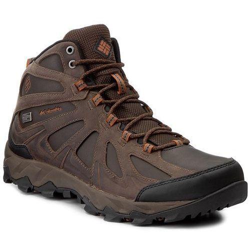 Trekkingi - peakfreak xcrsn ii mid leather outdry bm1760 cordovan/bright copper 231 marki Columbia