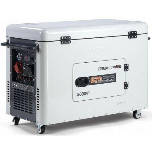 Daewoo Agregat prądotwórczy ddae 11000dse-3 diesel 8kw wyciszony dual power