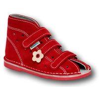 profilaktyczne buty wzór 013nk kolor czerwony marki Adamki