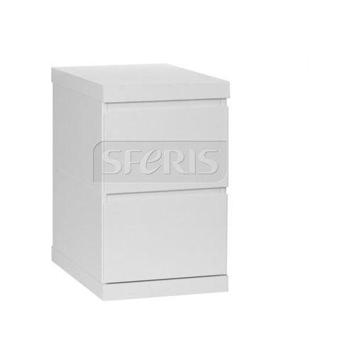 Kontener do biurka 2-szufladowy Pinio Lara biały - 020-111-110 - produkt z kategorii- Pozostałe