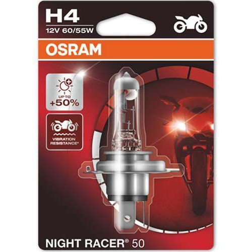 Osram® Żarówka do motocykla h4 night racer® 50 | blister 1 szt.