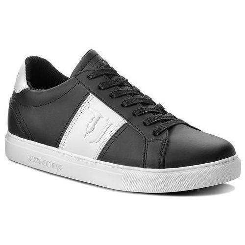 Sneakersy TRUSSARDI JEANS - 77A00107 K308, kolor czarny