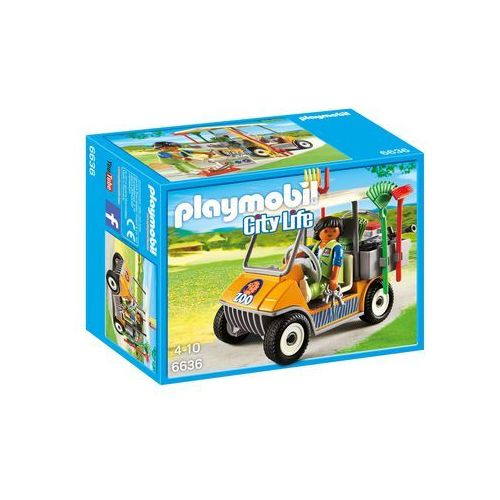Playmobil CITY LIFE Samochód zoo 6636 - BEZPŁATNY ODBIÓR: WROCŁAW!