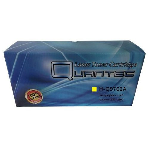 Quantec Zastępczy toner hp 121a [c9702a] yellow