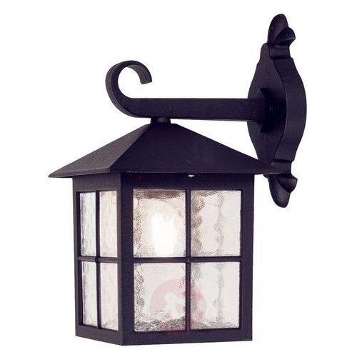 Elewacyjna lampa ścienna winchester bl18 ogrodowa oprawa zewnętrzny kinkiet tarasowy outdoor ip43 czarny marki Elstead