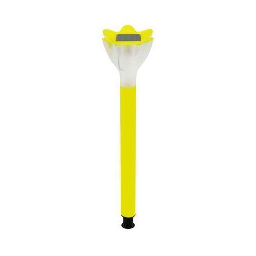 Polux Lampa wbijana solarna tulipanek żółta