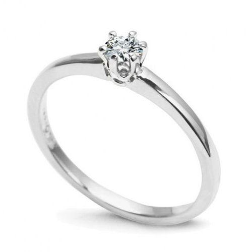 Złoty pierścionek pbd4408 - diament marki Staviori