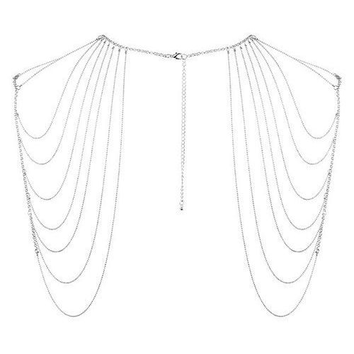Łańcuszki na ramiona - Bijoux Indiscrets Magnifique Shoulder Jewelry Silver