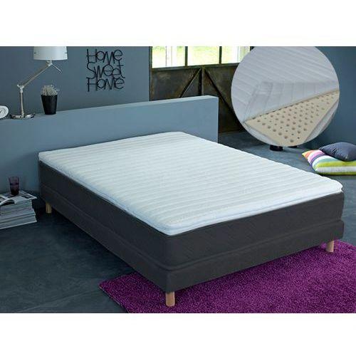 Nakładki na materac z 3 obszarami ze zdejmowanym pokrowcem 100% lateksu astuce marki - 5 cm grubości - 140 x 190 cm marki Dreamea