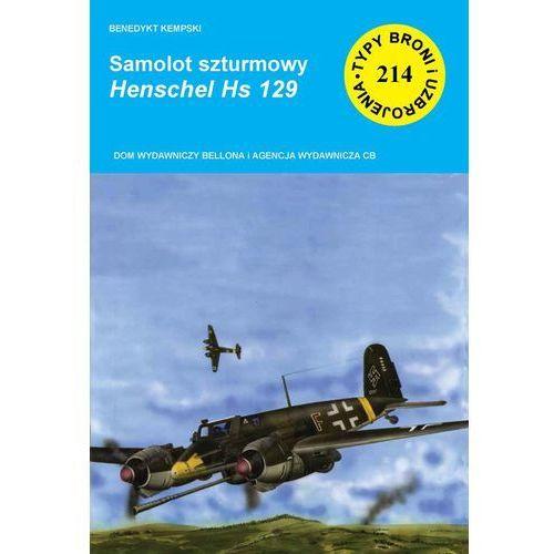 Samolot szturmowy Henschel Hs 129 (36 str.)