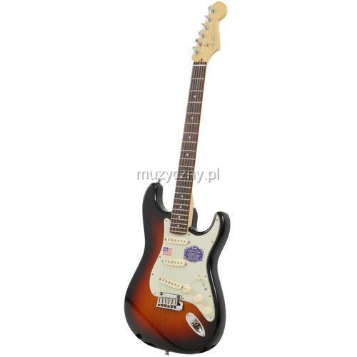 Fender American Deluxe Stratocaster RW 3-Color Sunburst gitara elektryczna, podstrunnica palisandrowa Płacąc przelewem przesyłka gratis!