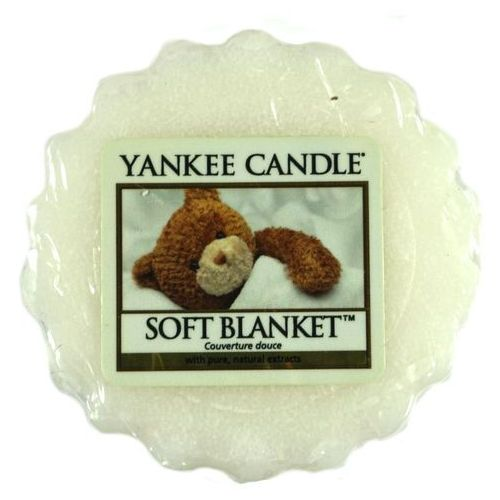 Wosk zapachowy - Soft Blanket - 22g - Yankee Candle