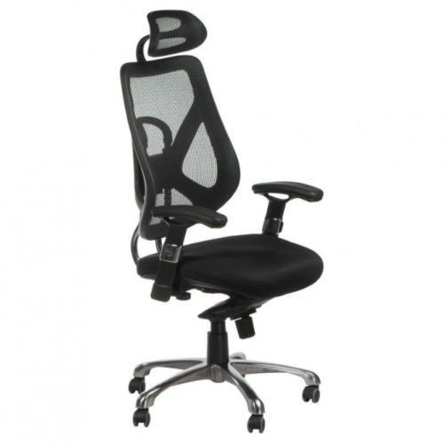 Fotel ergonomiczny bx-w4310 czarny marki Corpocomfort
