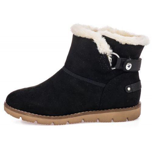 Tom tailor buty zimowe damskie 39 czarny