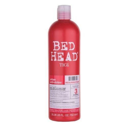 Tigi Bed Head Resurrection Shampoo 750ml W Szampon do włosów zniszczonych