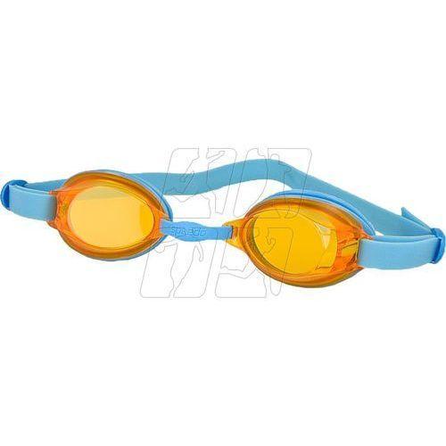Okulary pływackie  jet junior 8-092988434 niebieskie marki Speedo
