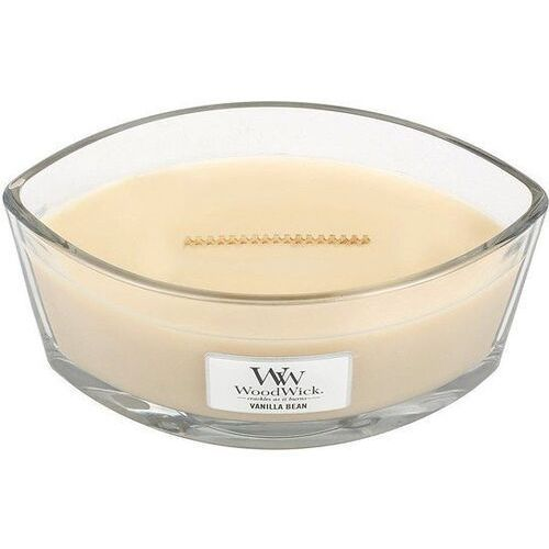 Woodwick Świeca hearthwick flame white vanilla bean