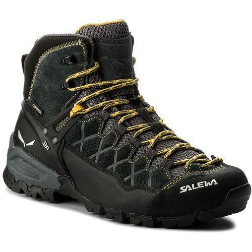 Salewa Trekkingi - alp trainer mid gtx gore-tex 63432-0766 carbon/ringlo