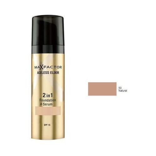 Max Factor Ageless Elixir 2in1 | Podkład i serum 50 Natural 30ml